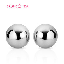 Vaginal Ball Passion Solid Stainless Steel Balls Advanced Kegel Vagina Trainer Ben Wa Balls Sex Toy For Women Sex Products(China)