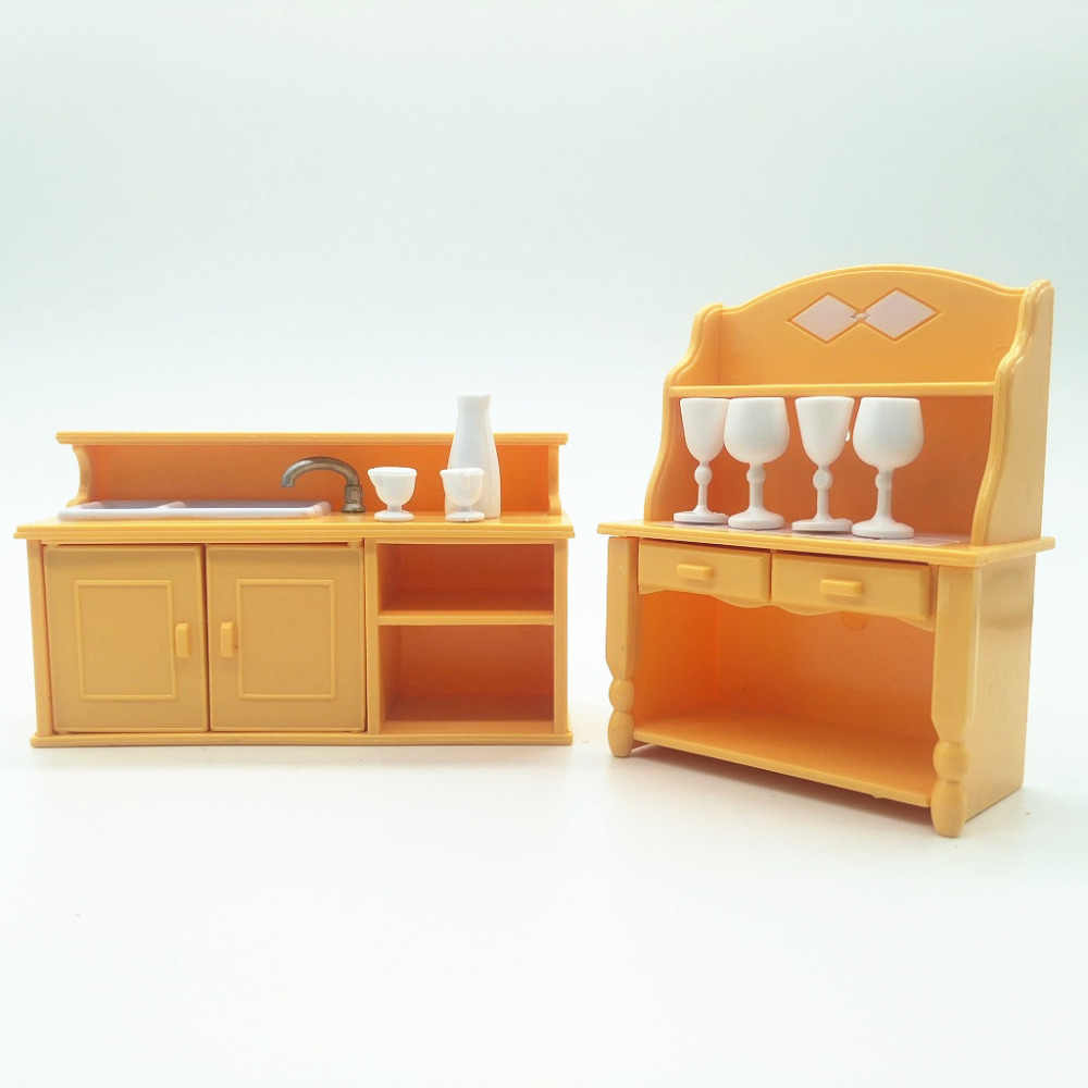 Detail Feedback Questions About Bar Table Suit For Sylvanian Family Figures  Toy Mini Furniture Pretend Mini Bedroom Set Mini Living Room Furniture Toy  Gift ...