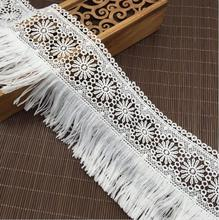 Fringe Tassels Lace Trim for Cloth ,Bag or Garment ,Bed Cover Tassel Lace Trim(China)