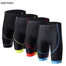 Cycling Shorts Men Women 3D Padded Biking Bicycle Short Tights Comfortable Breathable Underwear Bicycle Shorts Clothes 5-Colors