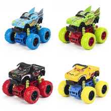 1: 36 Scale Alloy Metal Diecast Car Baby Toys Kids Pull Back Animals Racing Car Model Vehicle Gift Toy for Children 4 Styles