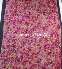 16070163 silk fabric printed silk chiffon fabric for silk dress(China)