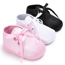Super confortable Baby Sneaker Shoes Soft Bottom Lace Up Boy Girl Sports Shoes Infant Newborn First Walker Shoes for Baby(China)