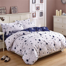 modern style home children adult bedroom single bed double bed style 4Pcs quilt cover down duvets Bed sheets pillowcase