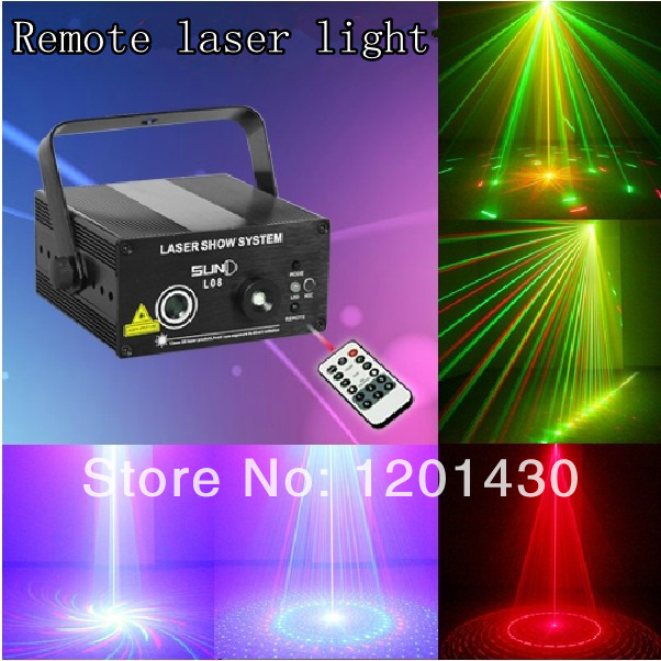 Remote ktv laser light RGB 8-in-1 flash voice wedding dj stage lighting equipment beam lights<br><br>Aliexpress