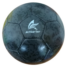 High Quality Hand stitching durable PU leather soccer ball official size 5 football ball for training match club school