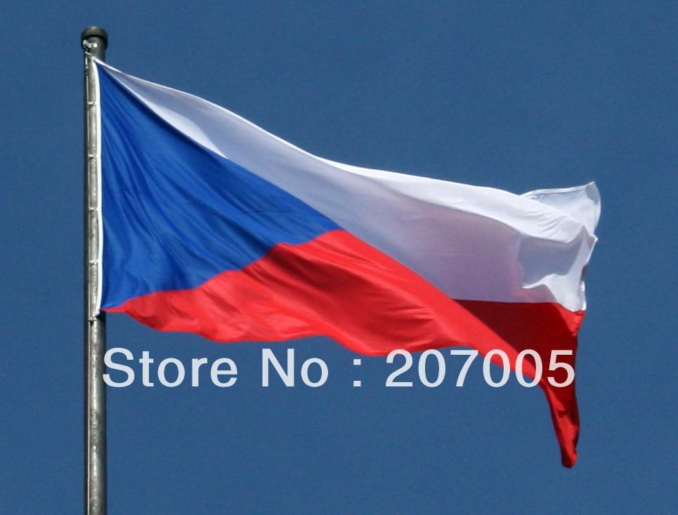чешский флаг фото