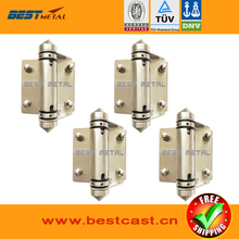4 Pieces/Lot Mirror polish 316 Stainless steel Self Closing Hinges of glass to glass for glass swimming pool fencing