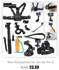 For Xiaomi Yi/Ion Air Pro Kit Accessories for Sony Action Cam HDR AS15 AS20 AS200V AS30V AS100V AZ1 mini FDR-X1000V/W 4 k
