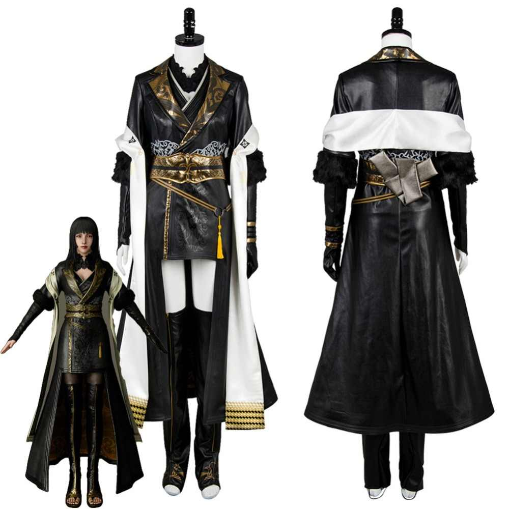 FF XV FF15 Gentiana Cosplay Costume Outfit Full Set Custom Made