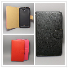 For HTC G12 Desire S S510E  Lichi Texture Leather Case Pouch Flip case FreeShipping