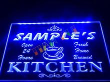 DZ004- Name Personalized Custom Mom Kitchen Bar Neon Sign  hang sign home decor shop crafts