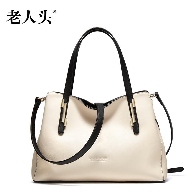 Women bag 2016 new LAORENTOU brand quality genuine leather bag fashion women handbags shoulder messenger cowhide bag<br><br>Aliexpress