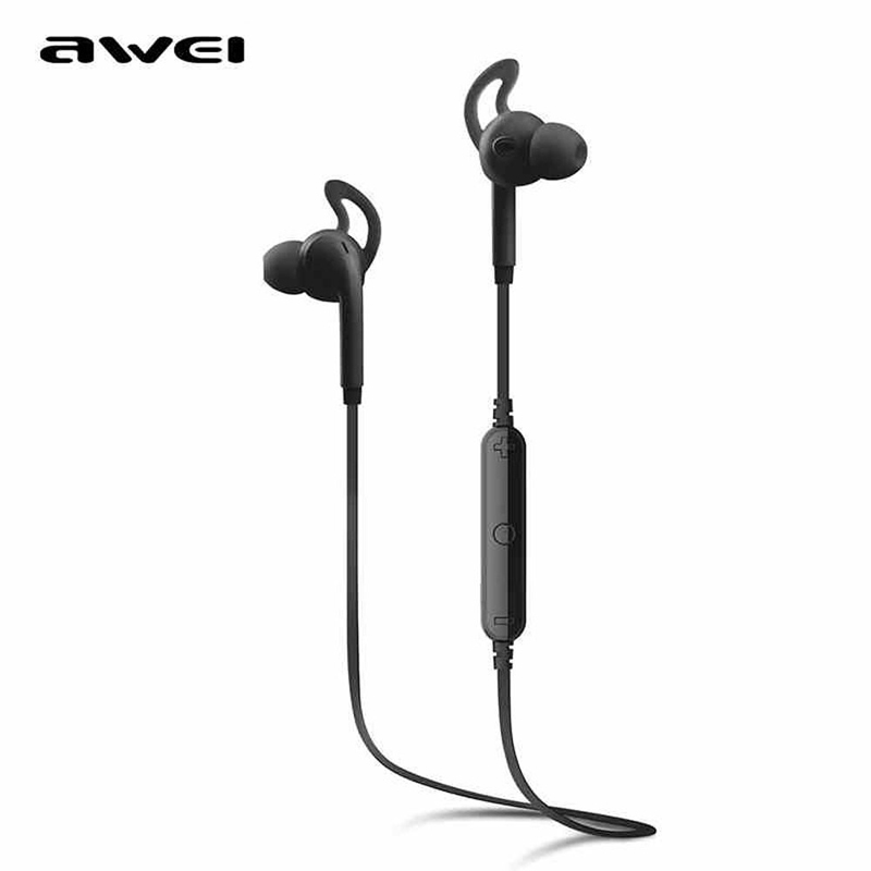 AWEI A610BL Wireless Sport Earphones Bluetooth 4.0 Noise Isolation Headphone with microphone &amp; Metal Wireless Earphone<br><br>Aliexpress