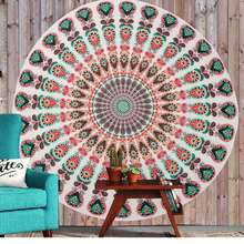 New Arrival Chiffon Indian Mandala Tapestry Wall Hanging Tapestries Boho Bedspread Beach Towel Yoga Mat Blanket Table Cloth