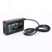 Home Wall Charger Input  AC 100V - 240V Adapter Output DC 5V 2A Power Supply Cord for Sony PSP 1000 2000 3000 L3FE