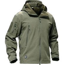 Outdoor Softshell Jacket Men Military Tactical Jackets Waterproof Sport Clothes Fishing Hiking Jacket Male Winter Coat(China)