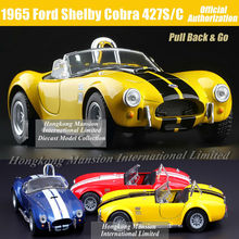 1:36 Scale Diecast Alloy Metal Classic Car Model For 1965 Ford Shelby Cobra 427S/C Collectible Model Collection Toys Car(China)