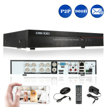 8CH DVR 960H/D1 H.264 8CH Digital Video Recorder With P2P Phone Remote Motion Detection CCTV DVR Recorder For Home Security(China)