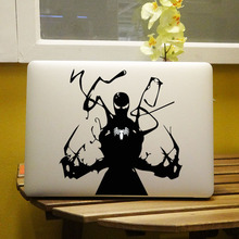 "Glowing Venom Marvel Laptop Decal for Apple MacBook 11"" 12"" 13"" 15"" Air Pro Retina Computer Chromebook Vinyl Notebook Sticker(China)"
