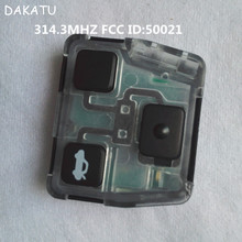 DAKATU Special Offer For Lexus remote key 3 button 314.3MHZ FCC ID:50021(China)