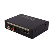 HDMI Splitter Separator HDMI To HDMI Audio Spdif R/L Professional Audio Signal Converter US UK EU AU Plug In stock!
