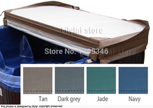 Customized spa cover skin  at any size  and shape, swim spa cover leather