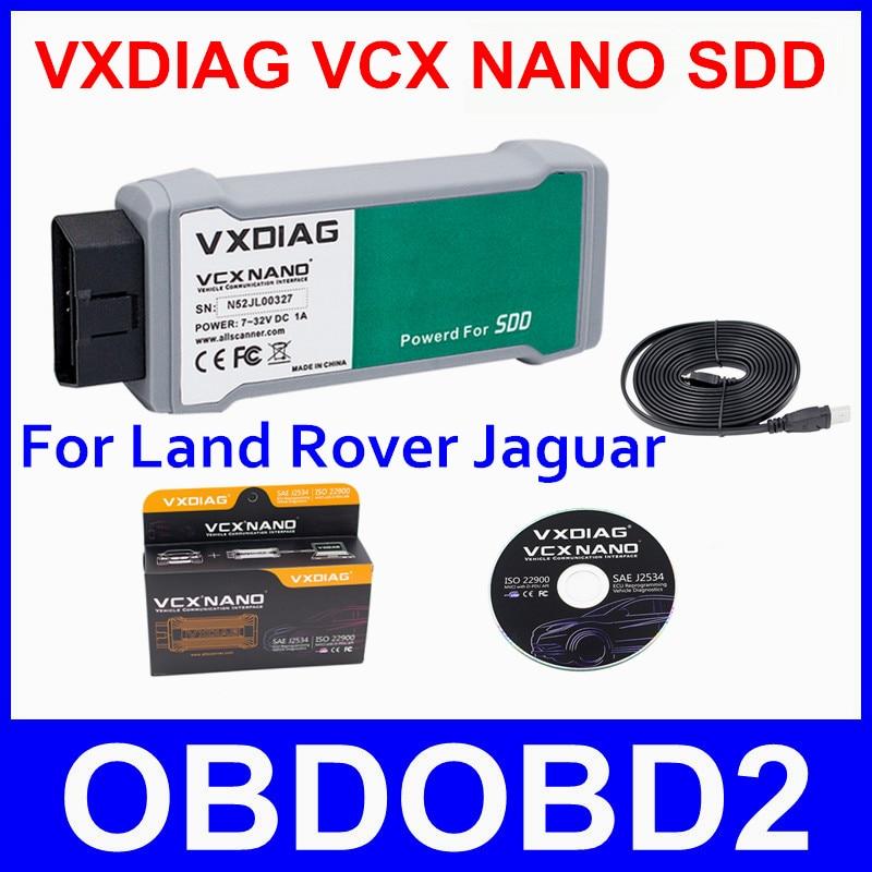 Professional VXDIAG VCX NANO For Jaguar For Land Rover Diagnostic Scanner JLR Diesel Gasoline Cars All Protocols Multi Languages<br><br>Aliexpress