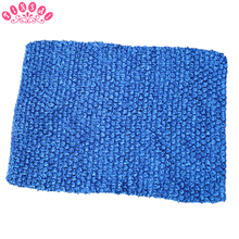 TINSAI 24*32CM Extra Large 12 Inch Elastic Knit Crochet Chest Wrap Girl Birthday Gift TuTu DIY Headband Skirt Sewing Accessories