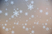 Privacy Frosted Glass Window Film etched opaque stained Home Bathroom Treatments (Width 45-75 cm ) *length 300cm Snowflake(China)