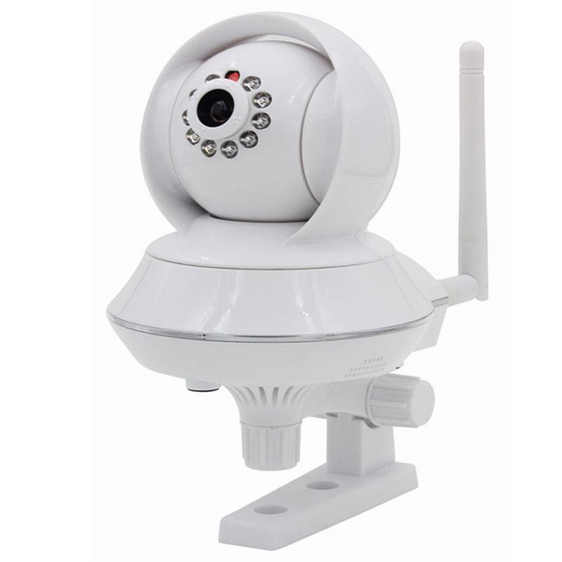 Pan Tilt IP Cameras P2P Wireless Motion Detection Mobile View Network Camera with Night Vision for Home Security Remote Viewing<br>