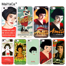 Buy MaiYaCa Amelie poster classic France movie Transparent Cover Case iPhone X 8 7 6 6S Plus 5 5S SE 4S for $1.27 in AliExpress store