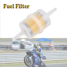Universal Motorcycle Fuel Filter Oil Filter Bike Moto Inline Fuel Gas Filter Oil Cleaning For All Scooter Oil Filter ATV Filtro