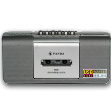 Panda 6515 fm radio recorder tape machine radio cassette recorder usb mini micro portable mp3 player.(China)