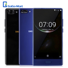 DOOGEE MIX 4G Mobile Phone Octa-core 2.5GHz Android 7.0 6GB+64GB 16.0MP+8MP Dual Rear Camera 5.5inch AMOLED Screen HD Smartphone