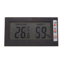 New LCD Screen Digital Thermometer C / F hygrometer Max Min Memory temperature / humidity Celsius Fahrenheit