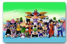 Custom 40x60cm Door Mat For Living Room Dragon Ball Z ANIME SERIES Doormat Bedroom Rug Floor Mats Christmas Gift