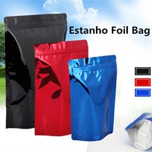 Ziplock Vacuum Bags Food Sealer Seladora A Vacuo Estanho Metal Tin Foil Aluminum Red Blue Black Color Lunch Bolsas Storage Lunch