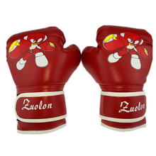 Buy Child 1 Pair Durable Boxing Gloves Kids Cartoon Sparring Kick Fight Sport Gloves Training Fists PU Leather Muay Thai Sandbag for $7.73 in AliExpress store