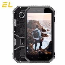 Original EL W6 Rugged Mobile Phone IP68 Waterproof Cell phone 4.5 Inches 8GB ROM 1GB RAM Dual Sim Unlocked China Phones Cheap