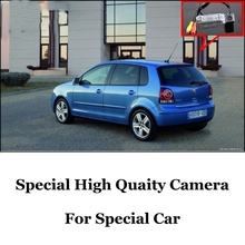 Car Camera For Volkswagen VW Polo MK4 / Polo Vivo High Quality Rear View Back Up Camera For Fans | CCD + RCA