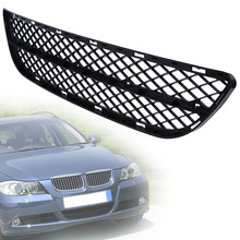 1Pc Black Car Front Bumper Center Lower Grill Fit For BMW 3 Series E90/E91 Sedan/Wagon Pre-facelift 2004-2008 Car Grilles