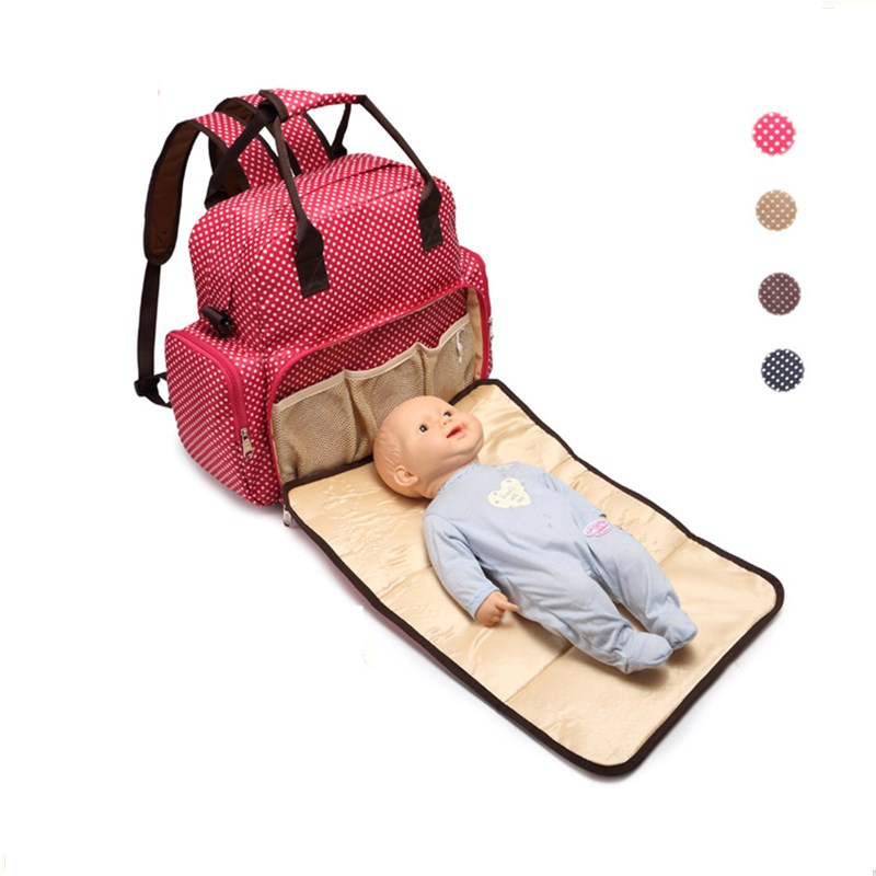 2016 Fashion Baby Bags Designers Diaper Bag Nappy Changing Bag Travel Mummy Maternity Bags High Quality Tote Backpack for mother<br>