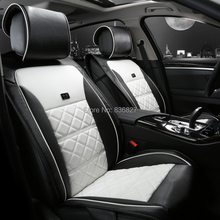 high quality fashion four seasons carbon leather specialized car seat cover set