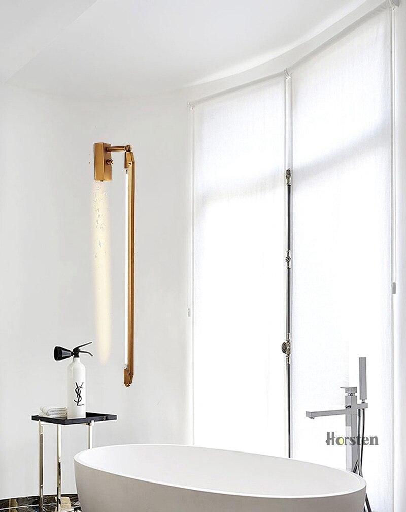 Nordic Minimalist T5 LED Wall Lamp 68cm Long Living Room Bar Bedroom Bedside Wall Lights Retro Home Decoration Lighting Fixtures 220V (4)