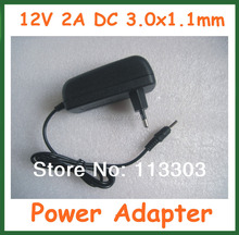12V 2A 3.0x1.1mm Charger EU US Plug for Acer Iconia Tab A500 A501 A200 A210 A211 A100 A101 Power Supply Adapter(China)