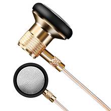 YTOM T1 metal Earphone In-Ear Clear Bass Stereo Earphone With Mic Music HIFI Metal auriculares for iphone xiaomi samsung sony(China)