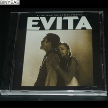 BINYEAE- new CD seal: Evita - Music From The Motion Picture CD light disk [free shipping](China)