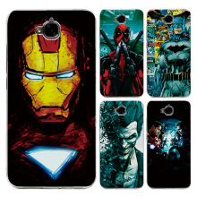 "For Huawei Honor 4C Pro 5.0"" Case Cover Charming Marvel Avengers Captain America Iron man Fundas Capa For Huawei Honor 4C Pro(China)"