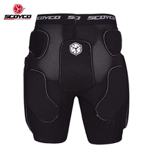 SCOYCO PM01 Motorcycle Armor Pants Motobike Bicycle DH MTB Breathable Ass Riding Racing Trousers Motocross MX Shorts Protector(China)